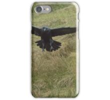 The Raven in Flight iPhone Case/Skin