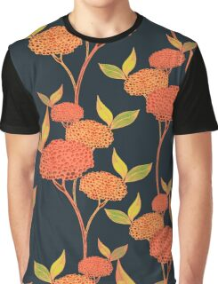 Warm floral. Orange berries. Graphic T-Shirt