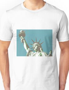 Liberty - dark Blue Unisex T-Shirt