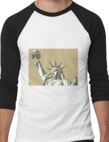 Liberty - Gold Men's Baseball ¾ T-Shirt