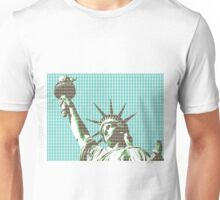 Liberty - Light Blue Unisex T-Shirt
