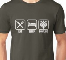 Eat Sleep Bowling Unisex T-Shirt