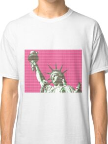 Liberty - Pink Classic T-Shirt