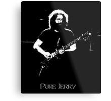 "Jerry Garcia- ""Pure Jerry"" Grateful Dead 1978 Metal Print"
