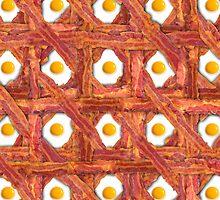 Bacon And Eggs For Breakfast by jaymelafleur