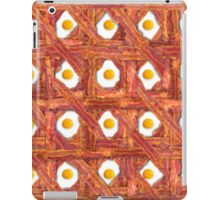 Bacon And Eggs For Breakfast iPad Case/Skin