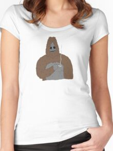 Sassy The Sasquatch | Official | 2016 Women's Fitted Scoop T-Shirt