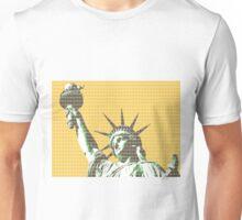 Liberty - Yellow Unisex T-Shirt