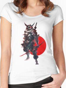 Samurai IV Bishamon Women's Fitted Scoop T-Shirt
