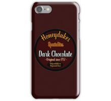 Honeydukes Chocolate - Dark!Version iPhone Case/Skin