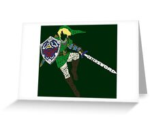 Link Typography Greeting Card