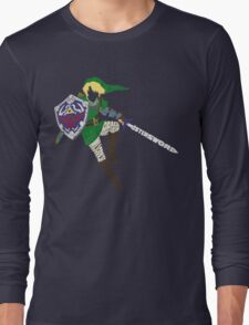 Link Typography Long Sleeve T-Shirt