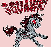My Zombie Pony (Outline) by squawkband