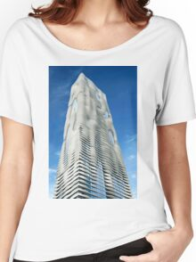 Aqua Tower Chicago Women's Relaxed Fit T-Shirt