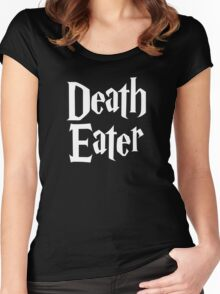 Death Eater logo Women's Fitted Scoop T-Shirt
