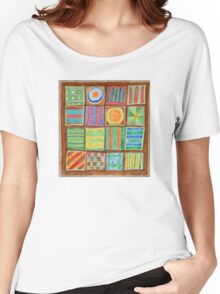 Colorful Petit Fours Women's Relaxed Fit T-Shirt
