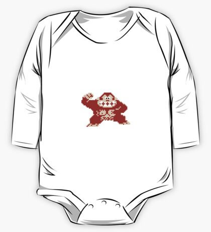 Donkey Kong One Piece - Long Sleeve