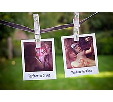 Partner in Crime Photographic Print