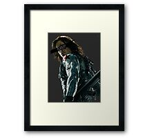 Who the hell is he? Framed Print