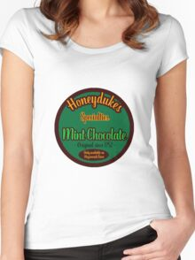 Honeydukes Chocolate - Mint!Version Women's Fitted Scoop T-Shirt