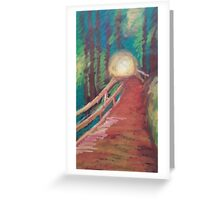 Oil Bridge Greeting Card