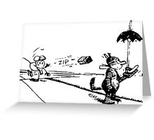 Krazy Kat TShirt Greeting Card