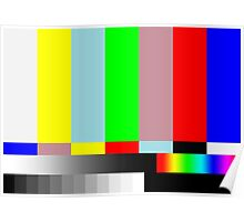 HD SMPTE TV Test Run Poster
