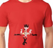 Dancing Birdmen Unisex T-Shirt