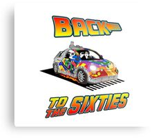 Back To the Sixties Metal Print