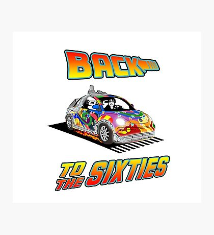 Back To the Sixties Photographic Print