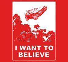 I believe in Delorean Kids Tee
