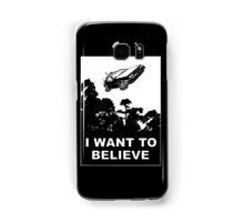 I believe in Delorean Samsung Galaxy Case/Skin