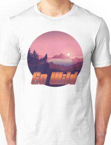 Wild Nature - Release your inner wilderness Unisex T-Shirt