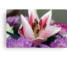 Exquisite lily Canvas Print