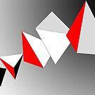 Tumbling pyramids by Michael Birchmore