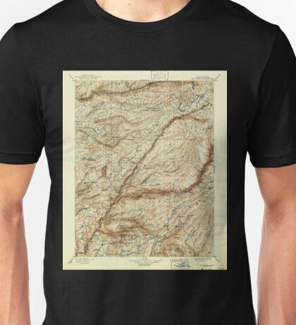 USGS TOPO Map California CA Big Trees 299225 1901 125000 geo Unisex T-Shirt