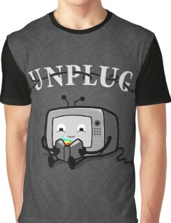 Unplug Graphic T-Shirt