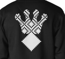 Mayan Third Eye Logo [White] | Fresh Thread Shop Pullover