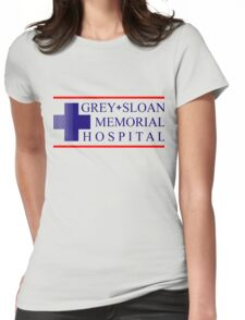 Greys Sloan Memorial Hospital - for light Womens Fitted T-Shirt