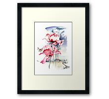 """Song About the Earth"" from the series ""Blossoming Planet"" Framed Print"