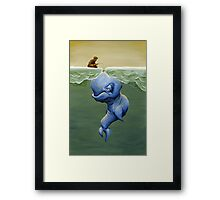 This One's About Greed Framed Print