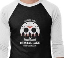 Crystal Lake Camp Counselor Men's Baseball ¾ T-Shirt