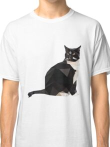 Low Poly Cat Classic T-Shirt