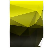 Abstract triangles. Poster