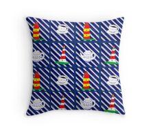 Friesenmuster Throw Pillow