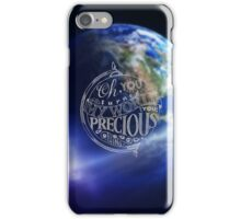 You turned my world iPhone Case/Skin