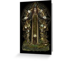 Witch of the Tarot Greeting Card