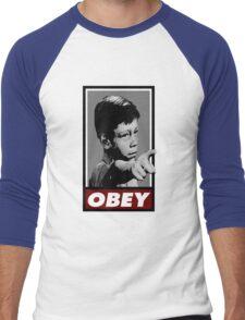 Twilight OBEY/ It's a good life! Men's Baseball ¾ T-Shirt