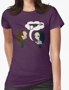 You Were Coveting My Grappler Womens Fitted T-Shirt