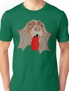 Bat Dog! Vampire Puppy Cartoon Monster Unisex T-Shirt